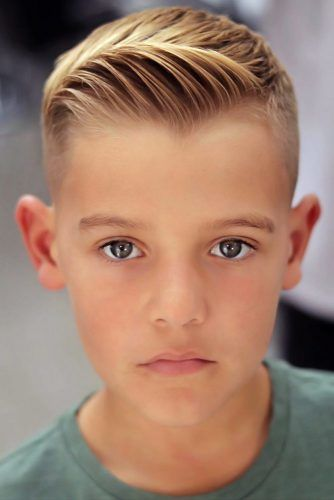 Short Quiff Blonde #boyhaircuts