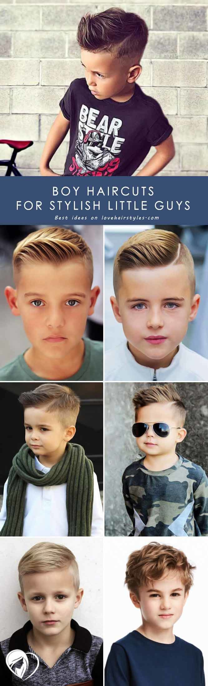 Keep Up With Fashion With These Stylish Boy Haircuts