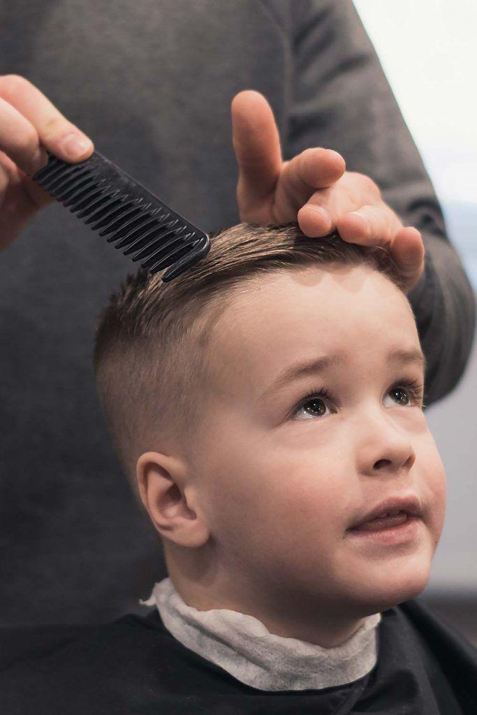 Decide Where You Want To Cut #boyhaircuts
