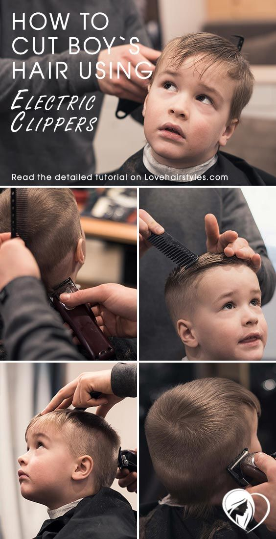 How To Cut Boy's Hair Using Electric Clippers