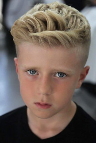 Short Quiff Layers #boyhaircuts
