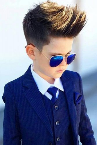 Layered Medium Haircuts For Boys