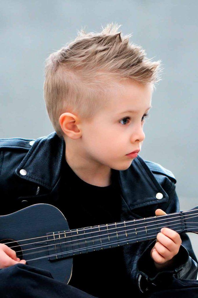 Stylish Short Mohawk Boy Haircuts #mohawk