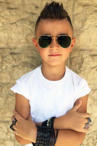 Mohawk Spiky Styles #boyshaircuts