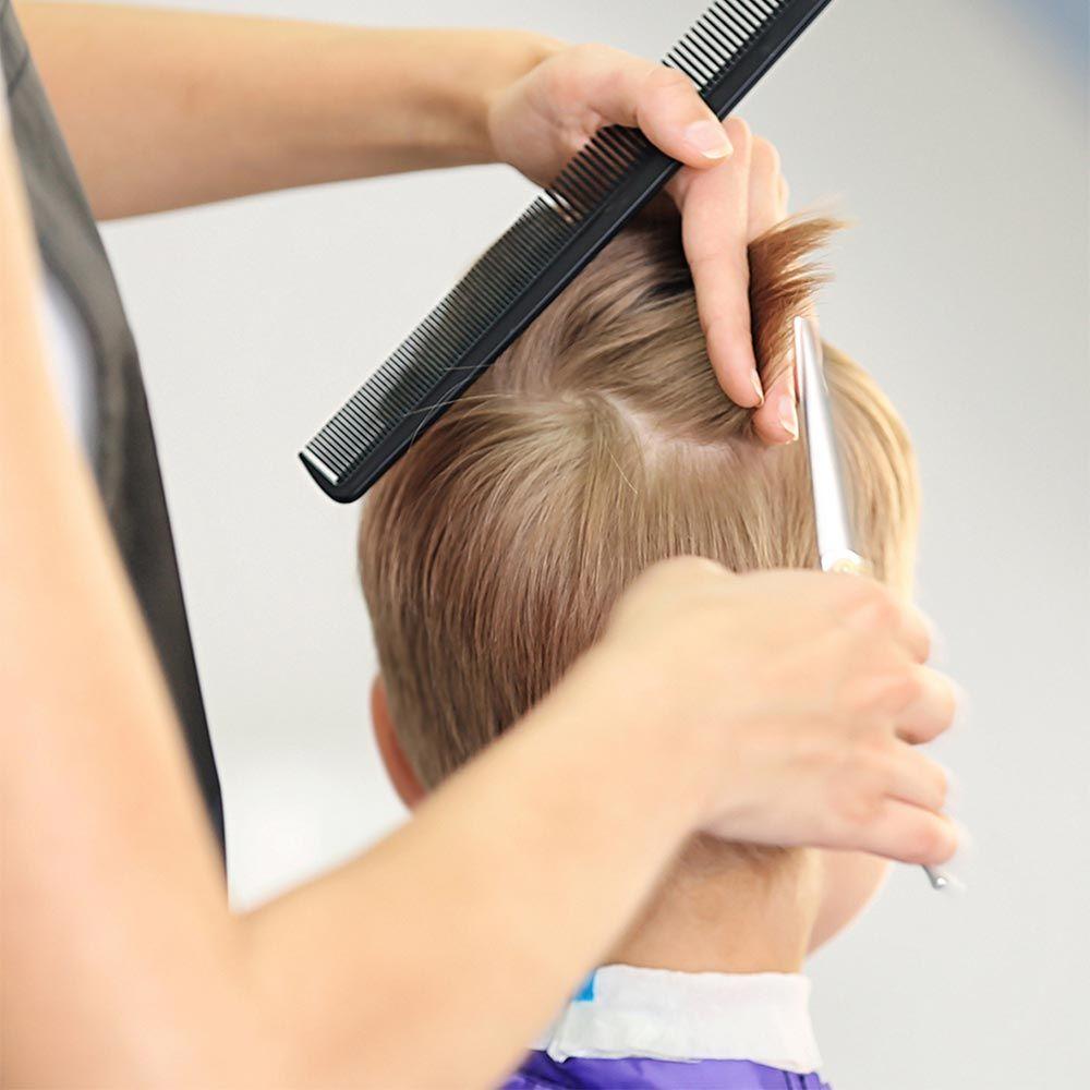 Cut The Hair Straight Across #boyhaircuts