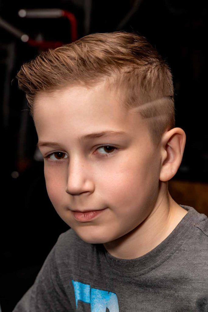 Medium Comb Over Cuts With Shaveed Design #shaveddesignhairstyle