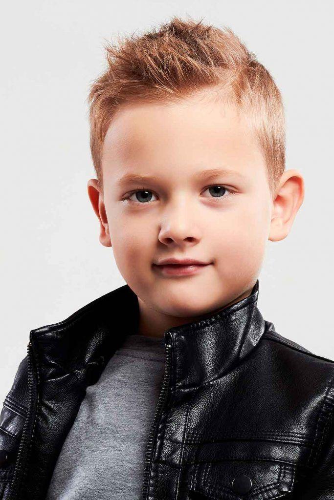 Short Spiky Hairstyle For Boys #spikyhair #boys