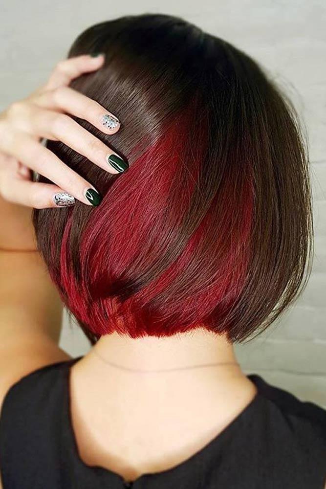 40 Flirty Burgundy Hair Ideas