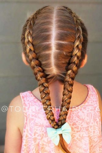 Adorable Dutch Braids picture 2
