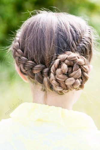Fancy Braided Updo picture 1