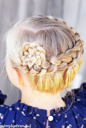 Fancy Braided Updo picture 2