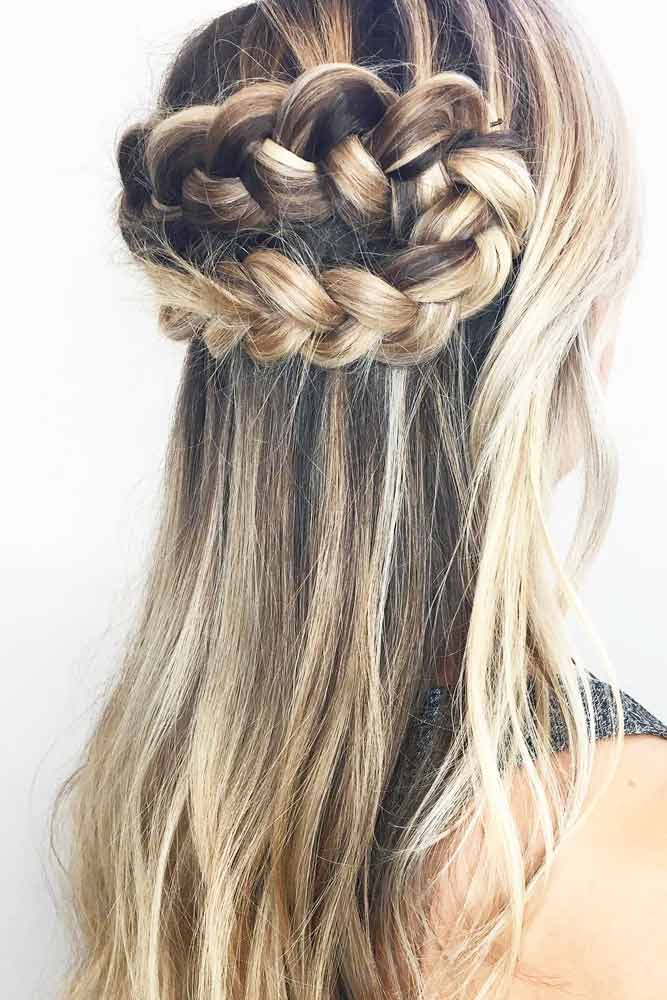 French Crown Braids picture 1