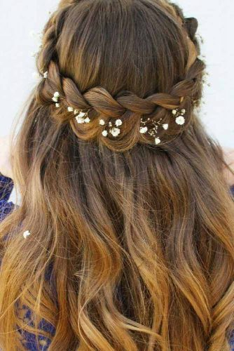 Fantastic Half-Up Half-Down Braided Hairdo picture 2