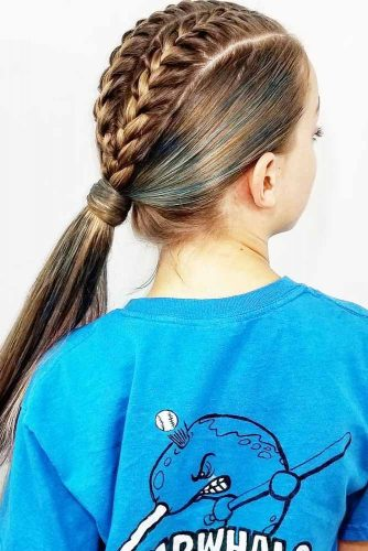 Sweet Braided Ponytails picture 2