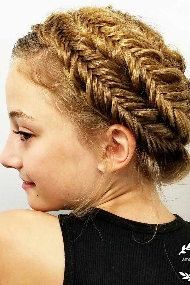Braided Bun Style picture 3