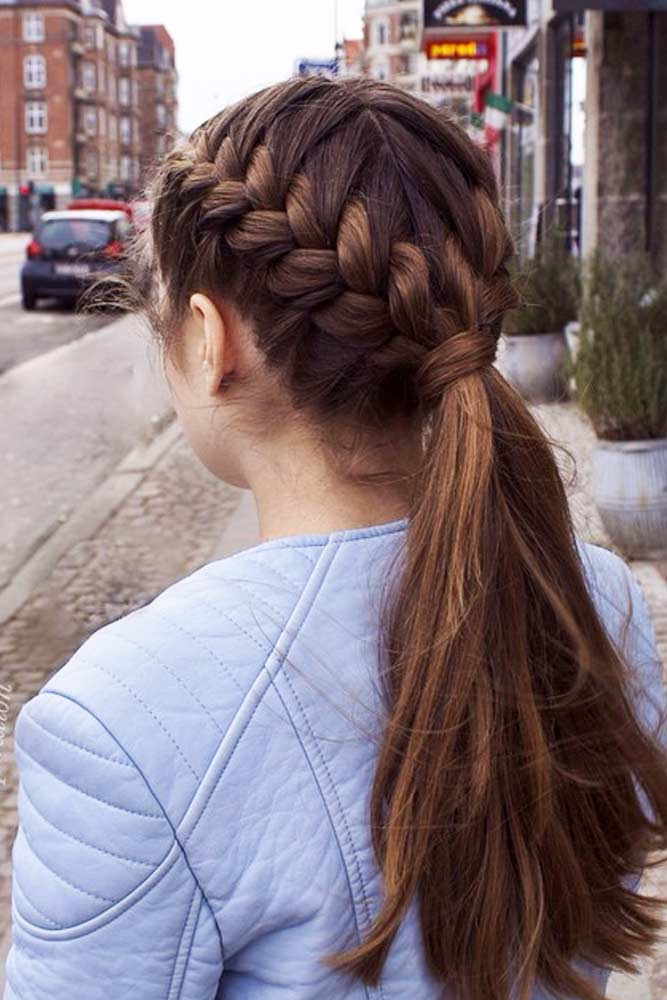 Sweet Braided Ponytails picture 3