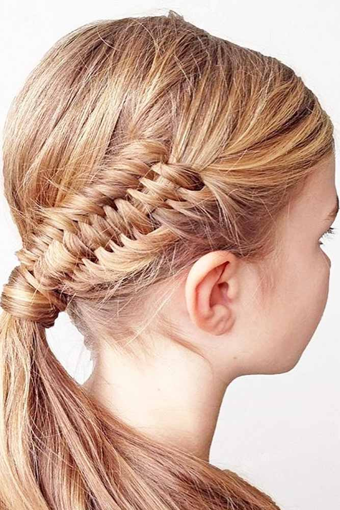Sweet Braided Ponytails picture 1