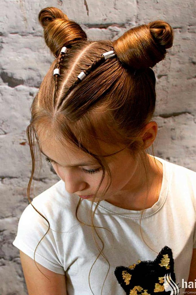 Unique and Extraordinary Style With Space Buns