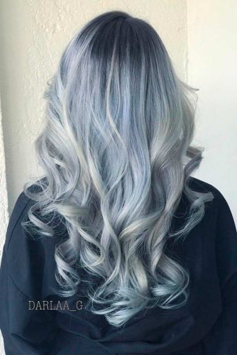 Ashen Grey Ombre
