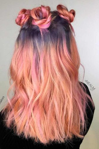 Beautiful Tender Peach Hair picture1