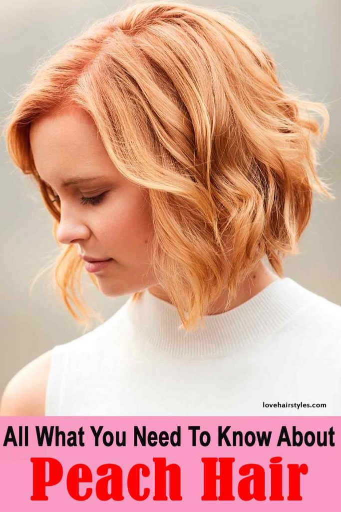 Beautiful coral hair color you will wanted to try