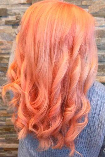 Cute Peach Hair picture2