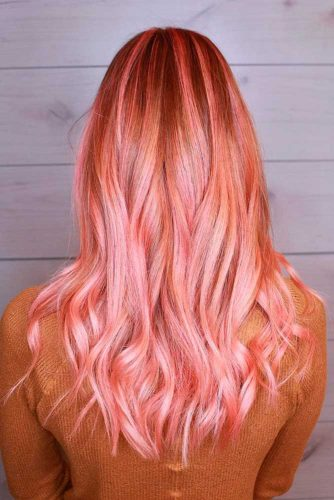 Cute Peach Hair picture3