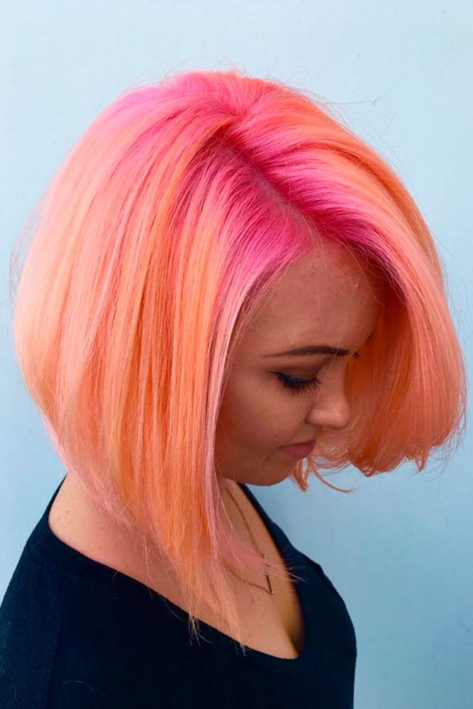 Peach Ombre Hair Looks picture3
