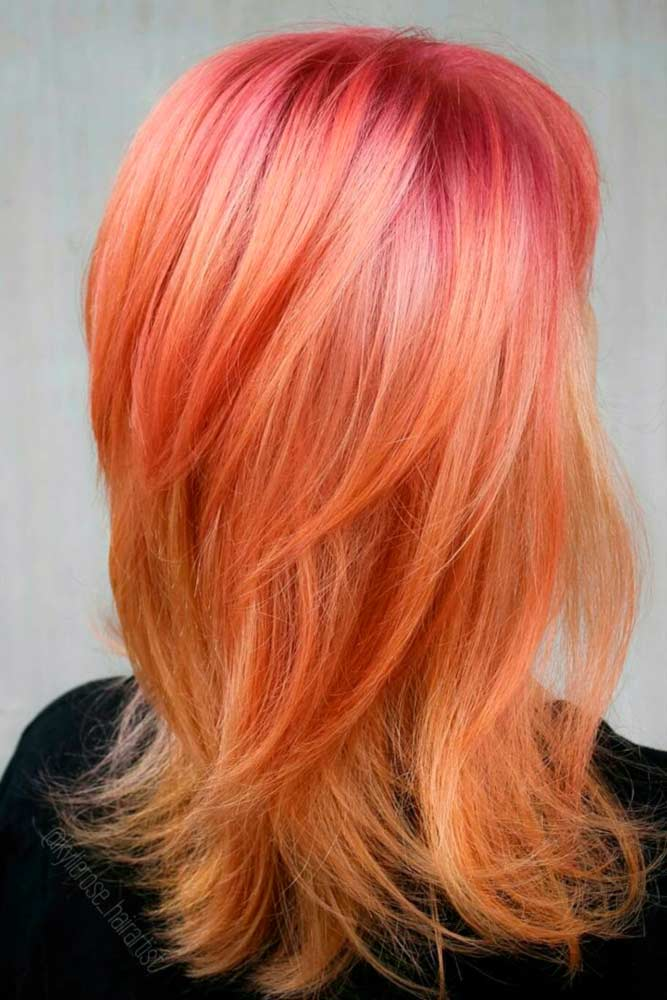 Beautiful Tender Peach Hair picture3