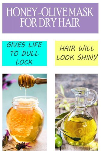 Natural Mask for Dry Hair