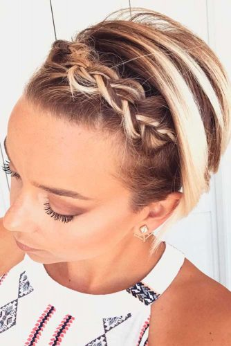 Short Cut with Fishtail Braid