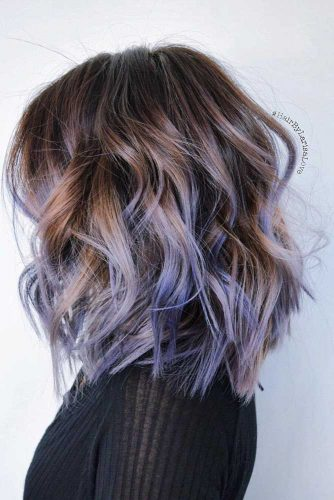 Messy Layered Highlighted Hair picture1