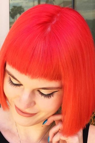 Hairstyles for Bangs Lover picture 2