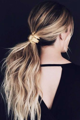 Lovely Messy Ponytails picture 1
