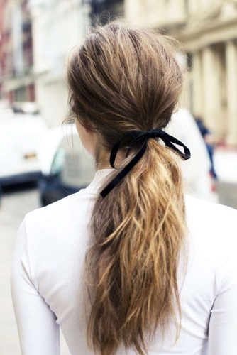 Lovely Messy Ponytails picture 2