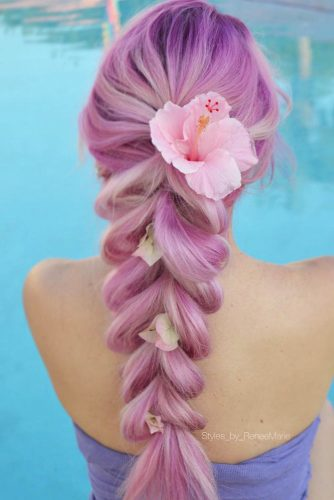 Extremely Sweet Ponytail Braid Looks picture 2