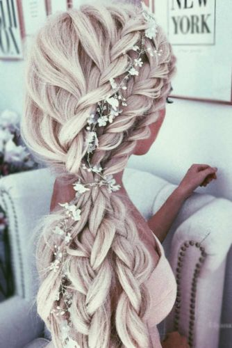 Extremely Sweet Ponytail Braid Looks picture 1