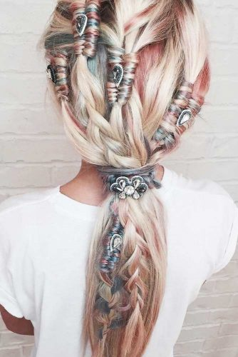 Extremely Sweet Ponytail Braid Looks picture 3