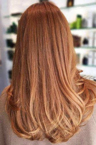 Strawberry Blonde Hair Balayage #blondehair #redhair #balayage