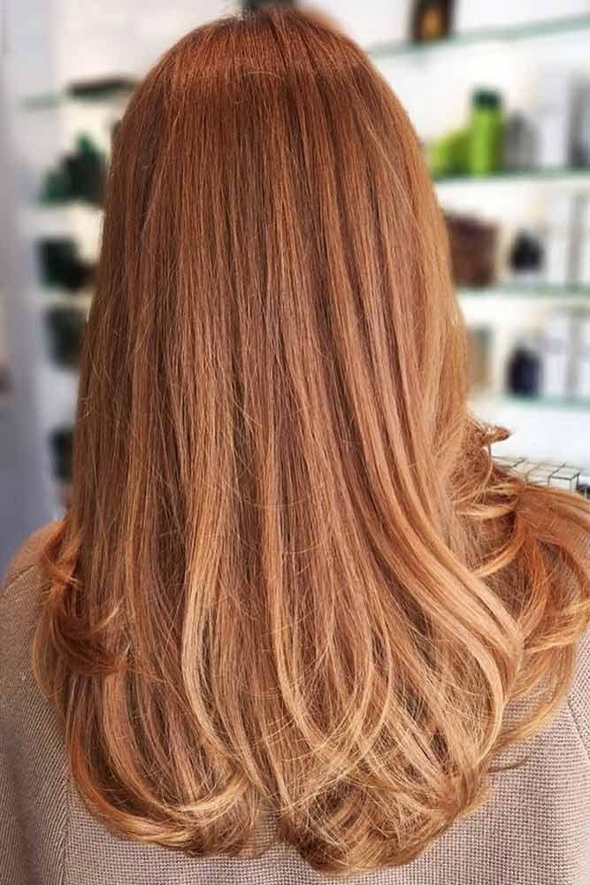 Strawberry Blonde Hair Balayage #blondehair #redhair #balayage