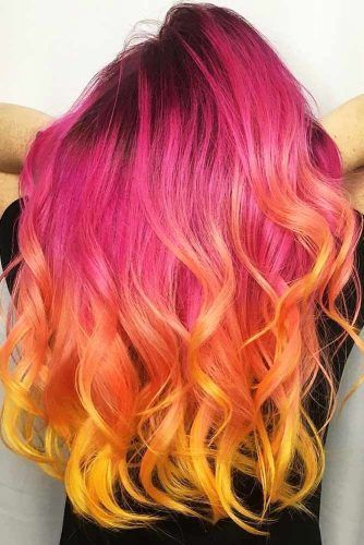 Triple Coloring With Strawberry Blonde Pink #strawberryblonde #blondehair