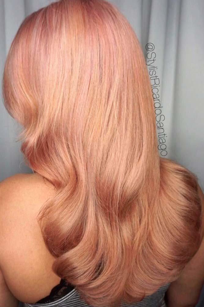 Light Peach Blonde