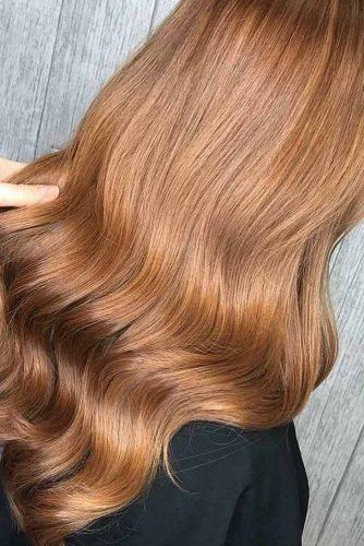 Dark Strawberry Blonde Hair Color Waves strawberryblonde #blondehair