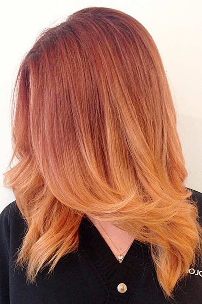 Honey Strawberry Blonde