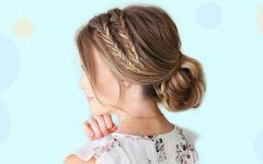Cute and Elegant Braided Bun Hairstyles