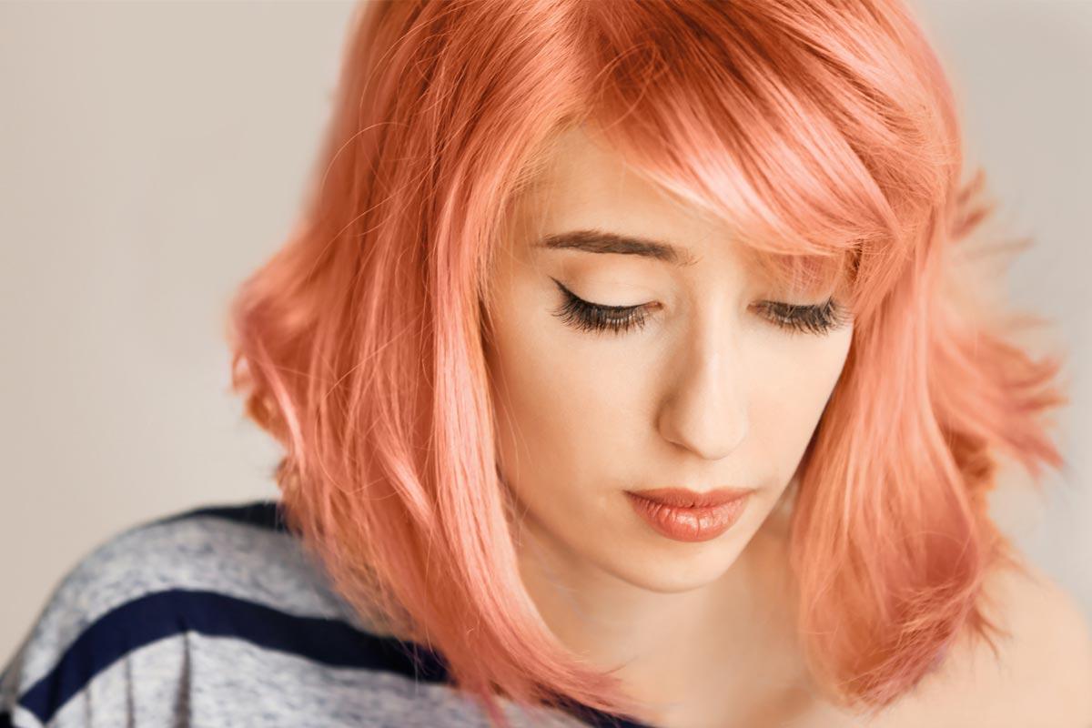 Amazing Ideas to Wear Peach Hair this Summer