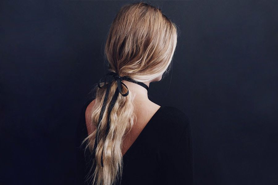 Stylish and Cute Ponytails with Accessories and Headbands