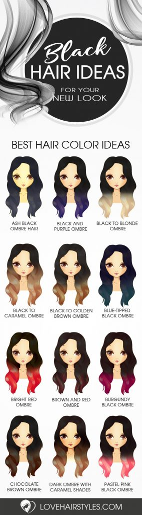 Ways to Take Your Black Ombre Hair to the Next Level