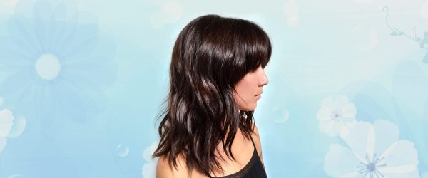 15 Hairstyles Ideas with Bangs for Round Face