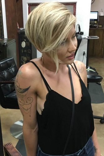 Short Hairstyles for Round Faces picture1